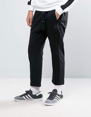 adidas Deluxe Knit Joggers In Black Bj9548