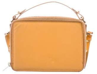 Sophie Hulme Leather Zip Crossbody Bag