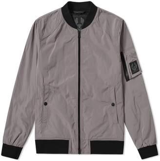Belstaff Mallison Nylon Zip Bomber Jacket