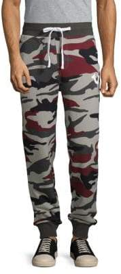 True Religion Camouflage Cotton Jogger Pants