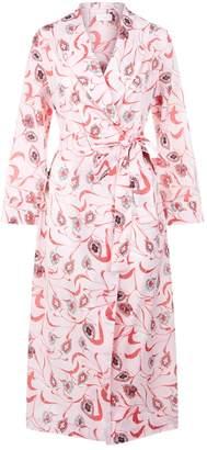 Yolke Long Cotton Dressing Gown