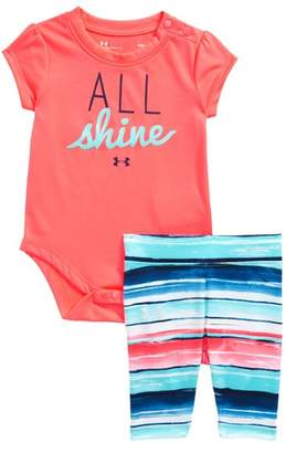 Under Armour All Shine Bodysuit & Leggings Set