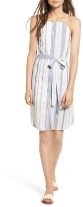 Women's J.o.a. Stripe Cotton Sheath Dress $79 thestylecure.com