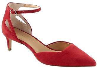 Banana Republic Side Cutout Kitten Heel