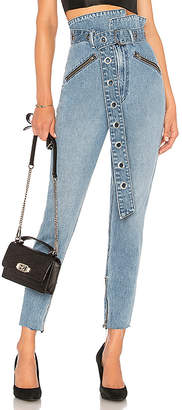 GRLFRND Mia Paperbag Jean.
