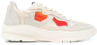 Filling Pieces panelled sneakers