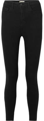 L'Agence Katrina High-rise Skinny Jeans - Black