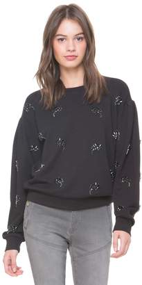 Juicy Couture Jewel Paisley French Terry Pullover