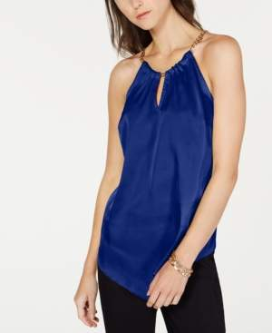 INC International Concepts I.n.c. Charm-Chain Halter Top, Created for Macy's