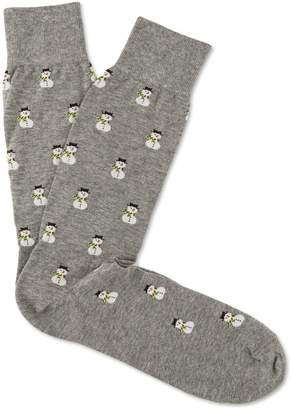 J.Mclaughlin Snowman Socks