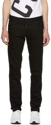 DSQUARED2 Black Clean Wash Slim Jeans
