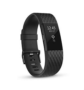 Fitbit Charge 2 Gunmetal - Large