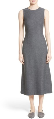 Women's St. John Collection Clair Knit A-Line Midi Dress $895 thestylecure.com