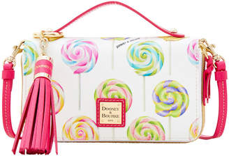 Dooney & Bourke Swirl Lollipop Willis Clutch Sammi Tassel