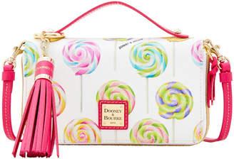 Dooney Bourke Swirl Lollipop Willis Clutch Sammi Tassel