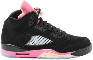 Nike Jordan Black Suede Trainers