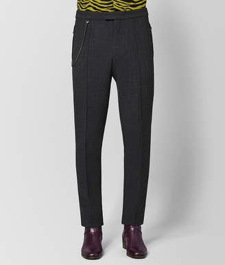 Bottega Veneta DARK GREY WOOL PANT