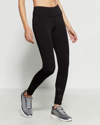 Reebok Black Balance 7/8 Athletic Leggings