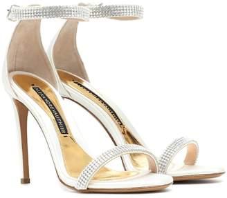 Alexandre Vauthier Embellished satin sandals