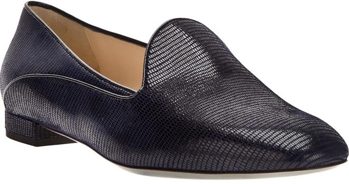 Giorgio Armani textured loafer