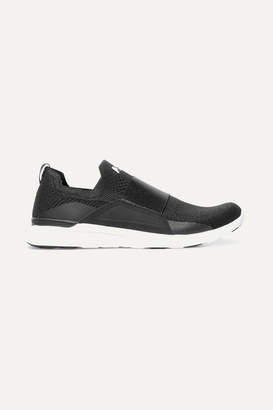 APL Athletic Propulsion Labs Techloom Bliss Mesh And Neoprene Sneakers - Black