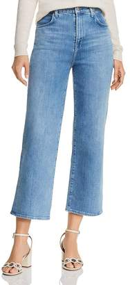 J Brand Joan Crop Wide-Leg Jeans in Andromeda