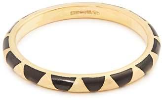 Marc Alary Enamel & yellow-gold ring