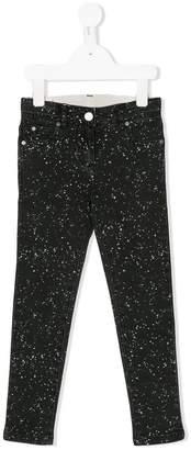 Stella McCartney splat print jeans