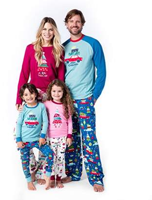 Hatley Little Blue House by Women's Merry Christmas Family Pajamas