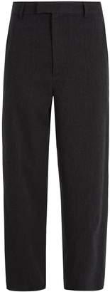 Raey Straight-leg wool-blend trousers