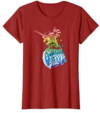Marvel Guardians of Galaxy Rainbow Rocket Graphic T-Shirt