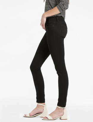 Lucky Brand Charlie Low Rise Skinny Jean In Black Amber