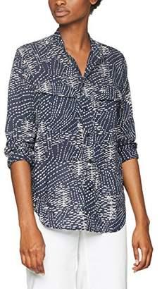 G Star Women's Rovic Bf Shirt Wmn L/s Blouse, Multicoloured (Sartho Blue/Milk Aop 8708), X-Large
