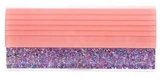 Jimmy Choo Glitter Sweetie Clutch
