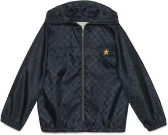 Children's GG nylon jacket $495 thestylecure.com
