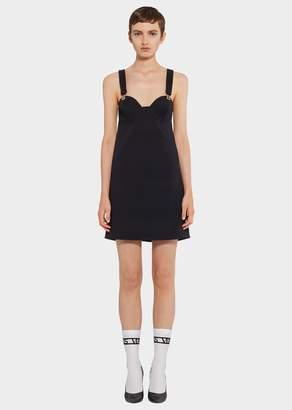 Versace Lion Button Mini Dress