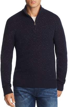 Bloomingdale's The Men's Store at Quarter-Zip Knit Sweater - 100% Exclusive