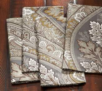 Pottery Barn Anton Paisley Napkin, Set of 4 - Neutral