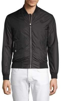 Versace Woven Baseball Jacket