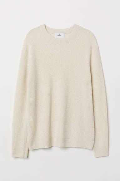 H&M - Cashmere-blend Sweater - Beige