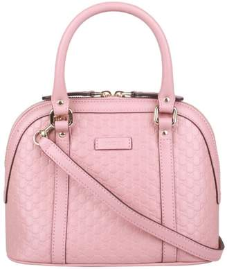 Gucci Dome Sling Bag MicroGuccissima Pink