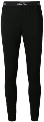 Calvin Klein Underwear logo trim leggings