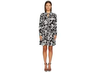 Moschino Long Sleeve Floral Dress Women's Dress
