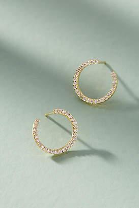 Anthropologie Dorothea Hooped Post Earrings