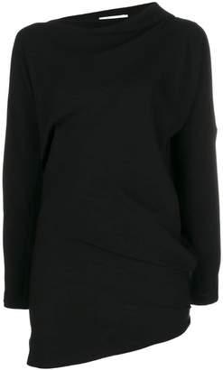 Jil Sander draped sweater