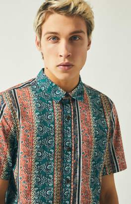PacSun Bliss Short Sleeve Button Up Shirt