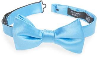 Nordstrom Solid Silk Bow Tie