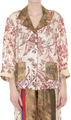 Pierre Louis Mascia Pierre-louis Mascia Silk Shirt