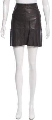 Marc Jacobs Leather Mini Skirt