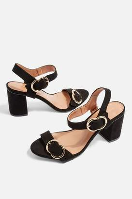 Topshop **SAMBA Two Part Sandals